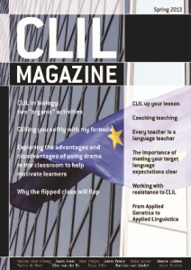 CLIL Magazine Spring 2013 cover small