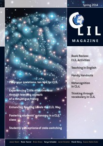 CLIL Magazine Spring 2014 cover small