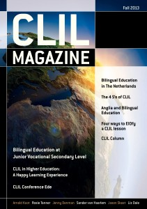 CLIL Magazine Fall 2013 cover small