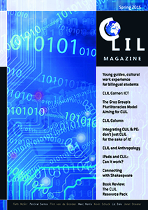 CLIL Magazine Spring 2015 cover small