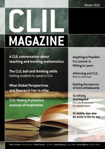 CLIL Magazine Winter 2012 cover small